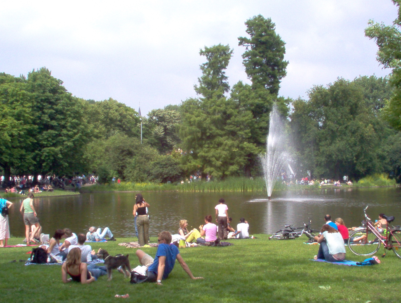 This is the main park and biggest of amsterdam this is where all the